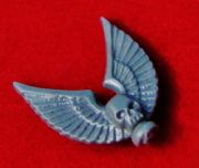 Space Marine Command Squad Standard Top Winged Skull Icon